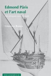 couverture Edmond Pâris et l'art naval